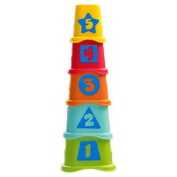 Пирамидка-сортер Chicco Smart2Play Stacking Cups 2 в 1