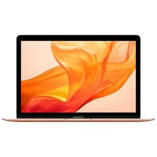 "Apple MacBook Air 13 with Retina display Late 2018 (Intel Core i5 1600 MHz/13.3""/2560x1600/8GB/128GB SSD/DVD нет/Intel UHD Graphics 617/Wi-Fi/Bluetooth/macOS) (MREE2RU/A) (золотистый)"
