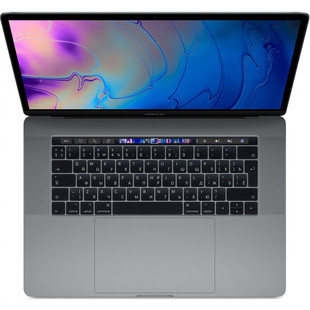 "Apple MacBook Pro 15 with Retina display and Touch Bar 2019 (Intel Core i9 2300 MHz/15.4""/2880x1800/16GB/1Tb SSD/DVD нет/Radeon Pro 560X 4Gb/Wi-Fi/Bluetooth/macOS) (Z0WW0006W) (серый космос)"