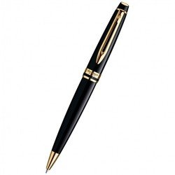 Ручка шариковая Waterman Expert 3 Black Laque GT Mblue (S0951700)